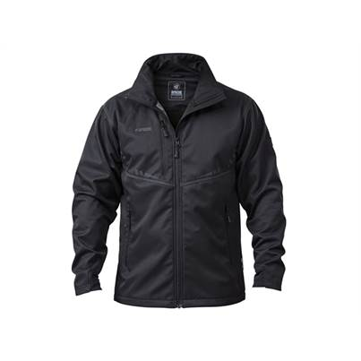 Apache ATS Water Resistant Lightweight Black Soft Shell Jacket