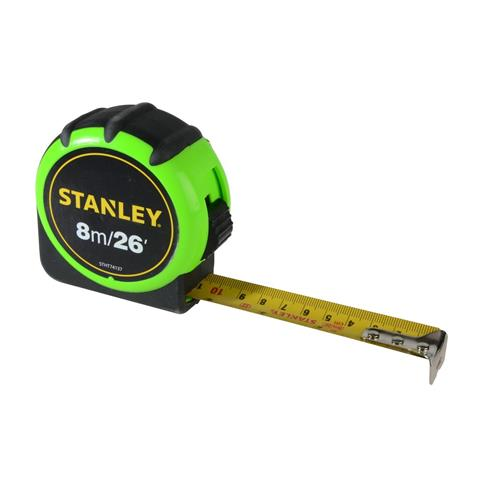 XMS Stanley Hi-Visibility Tape 8m/26ft