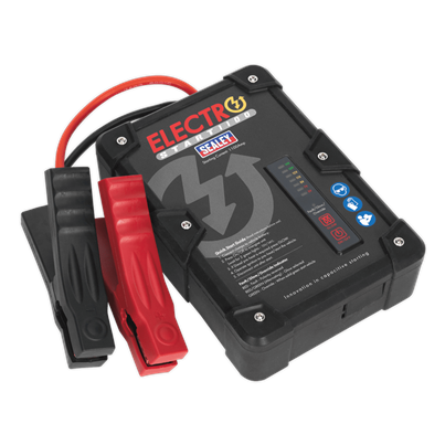 Sealey Tools ElectroStart® Batteryless Power Start 1100A 12V