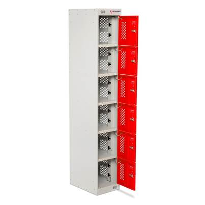 Armorgard PowerStation 6 Door Charging Locker 300 x 450 x 1800mm