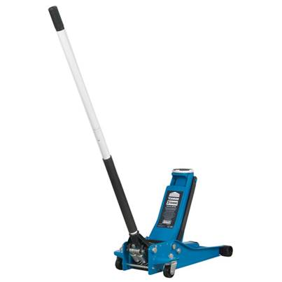 Sealey Tools Trolley Jack 2001LEBL 2tonne Low Entry Rocket Lift Blue 2001LEBL
