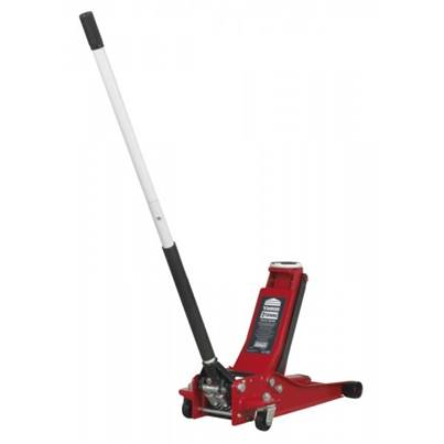 Sealey Tools Trolley Jack 2001LERE 2tonne Low Entry Rocket Lift Red