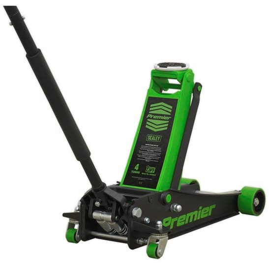 additional image for Trolley Jack 4tonne Rocket Lift Green