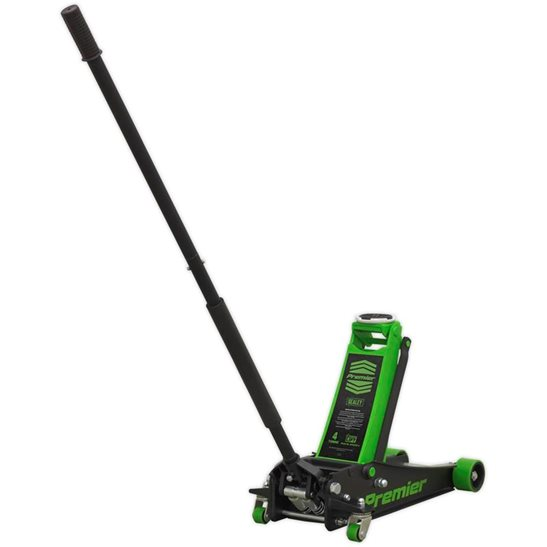 Image for Trolley Jack 4tonne Rocket Lift Green
