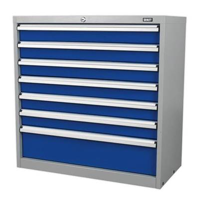 Sealey Tools Industrial Cabinet 7 Drawer