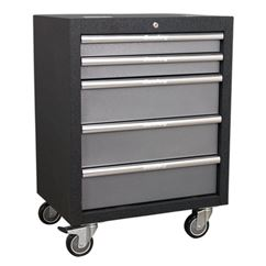 Modular 5 Drawer Mobile Cabinet 650mm