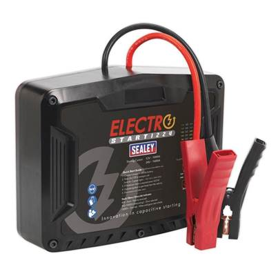 Sealey Tools ElectroStart® Batteryless Power Start 1000/1600A 12/24V