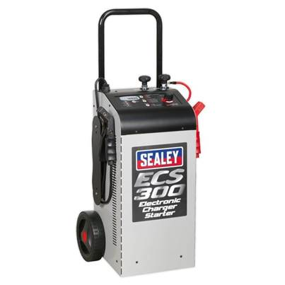 Sealey Tools Electronic Charger Starter 45/300A 12/24V