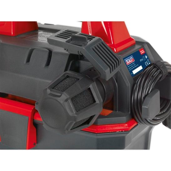additional image for Garage Vacuum 1500W with Remote Control - Wall Mounting