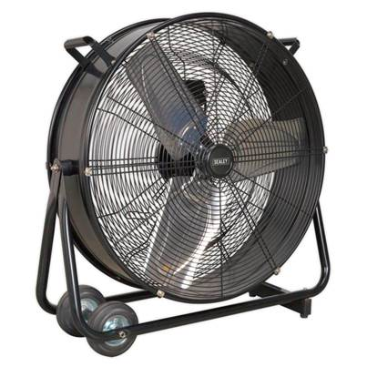"Sealey Tools Industrial High Velocity Drum Fan 24"" 230V"