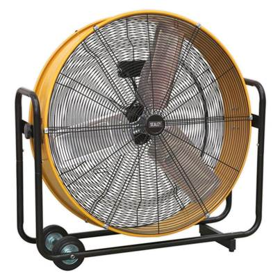 "Sealey Tools Industrial High Velocity Drum Fan 30"" 110V"