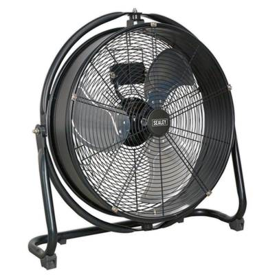 "Sealey Tools Industrial High Velocity Orbital Drum Fan 20"" 230V"