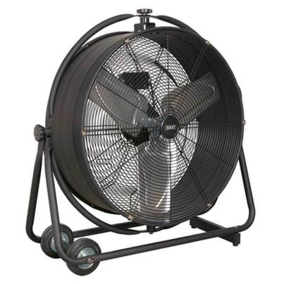 "Sealey Tools Industrial High Velocity Orbital Drum Fan 24"" 230V"