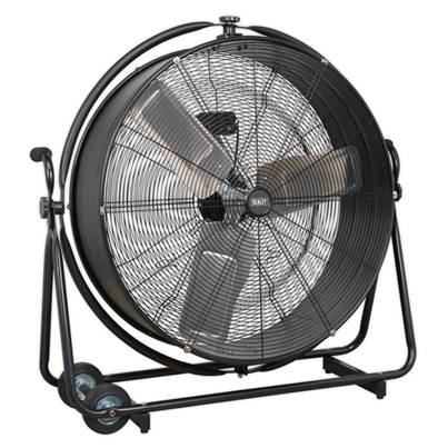 "Sealey Tools Industrial High Velocity Orbital Drum Fan 30"" 230V"