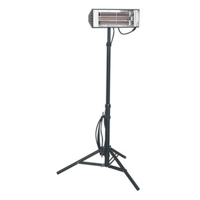 Sealey Tools Infrared Quartz Heater with Telescopic Tripod Stand 1500W/230V