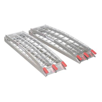 Sealey Tools Aluminium Loading Ramps 680kg Capacity per Pair