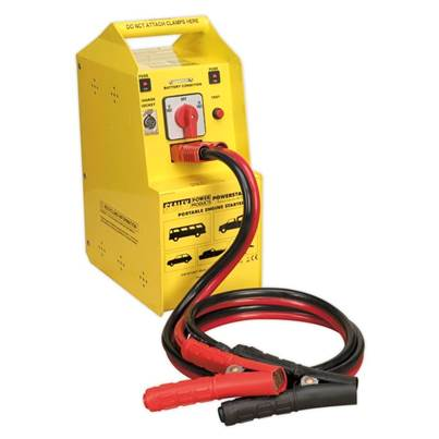 Sealey Tools PowerStart Emergency Jump Starter 900hp Start 12/24V