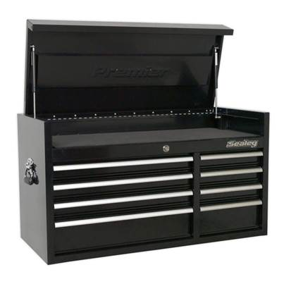 Sealey Tools Topchest 8 Drawer 1040mm Heavy-Duty Black