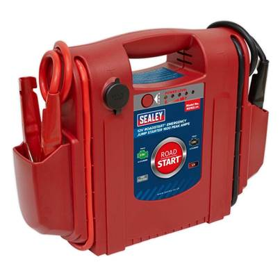 Sealey Tools RoadStart® Emergency Jump Starter 12V 1600 Peak Amps