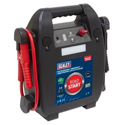Sealey Tools RoadStart® Emergency Jump Starter 12V 3.5ltr 6 Cylinder