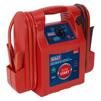 Sealey Tools RoadStart® Emergency Jump Starter 12/24V 3200/1600 Peak Amps