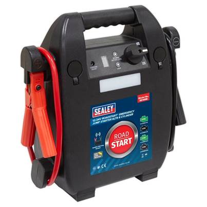 Sealey Tools RoadStart® Emergency Jump Starter 12/24V 6ltr 8 Cylinder