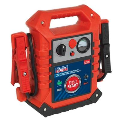 Sealey Tools RoadStart® Emergency Jump Starter 12/24V 3000/1500 Peak Amps