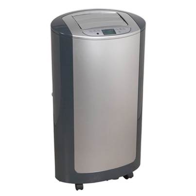 Sealey Tools Air Conditioner/Dehumidifier/Heater 12,000Btu/hr