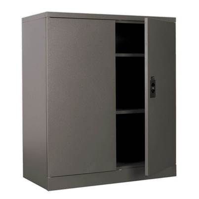 Sealey Tools Floor Cabinet 2 Shelf 2 Door