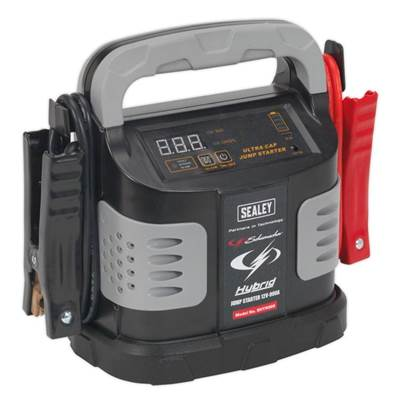 Sealey Tools Hybrid Ultra Capacitor Jump Starter 12V 900A