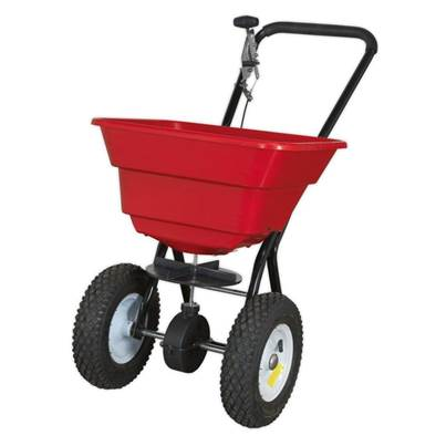 Sealey Tools Broadcast Spreader 37kg Walk Behind