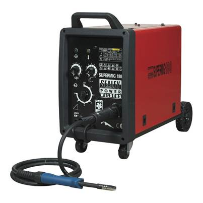 Sealey Tools Professional MIG Welder 180Amp 230V with Binzel Euro Torch
