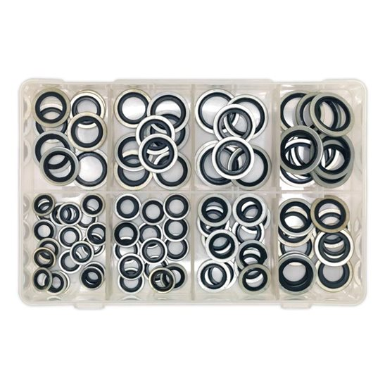 additional image for Bonded Seal (Dowty Seal) Assortment 88pc - Metric