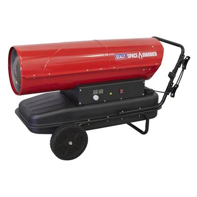 Sealey Tools Space Warmer® Kerosene/Diesel Heater 340,000Btu/hr with Wheels