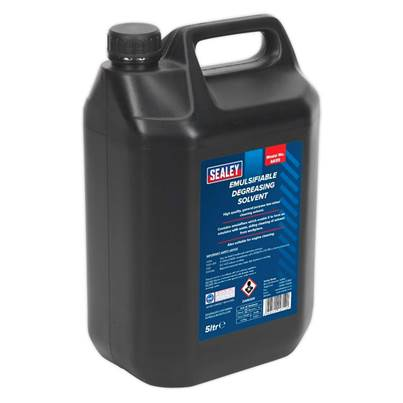 Sealey Tools Degreasing Solvent Emulsifiable 5L