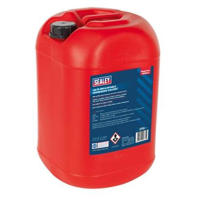 Sealey Tools Degreasing Solvent Emulsifiable 25ltr