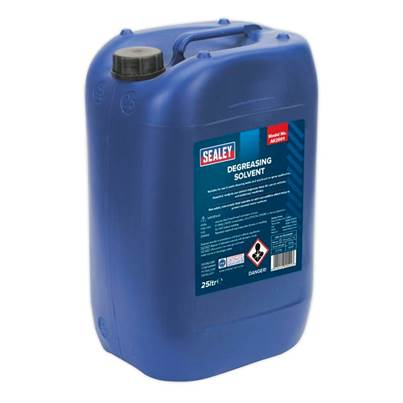Sealey Tools Degreasing Solvent 25ltr