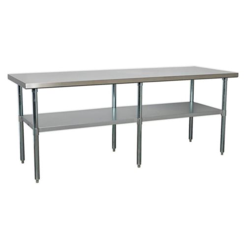 Sealey Tools Stainless Steel Workbench 2.1m