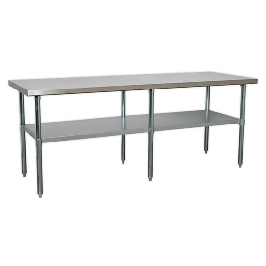 Image for Stainless Steel Workbench 2.1m