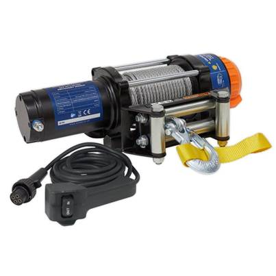 Sealey Tools ATV/Quad Recovery Winch 2040kg (4500lb) Line Pull 12V