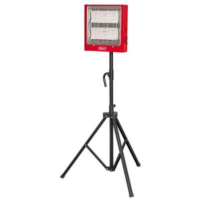 Sealey Tools Ceramic Heater with Telescopic Tripod Stand 1.4/2.8kW 230V