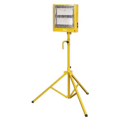 Sealey Tools Ceramic Heater with Telescopic Tripod Stand 1.4/2.8kW 110V
