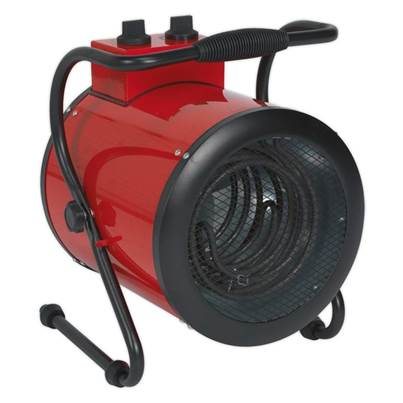 Sealey Tools Industrial Fan Heater 5kW 415V 3ph