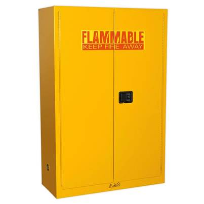 Sealey Tools Flammables Storage Cabinet 1095 x 460 x 1655mm