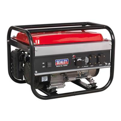 Sealey Tools Generator 2200W 230V 6.5hp