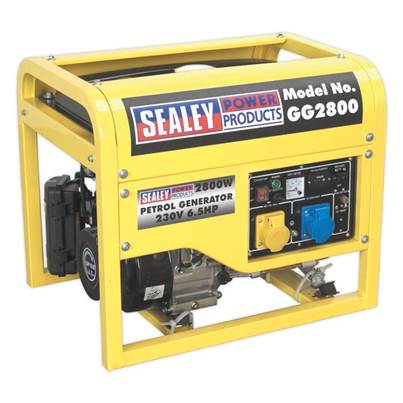 Sealey Tools Generator 2800W 110/230V 6.5hp