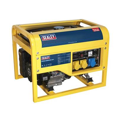 Sealey Tools Generator 6000W 110/230V 13hp