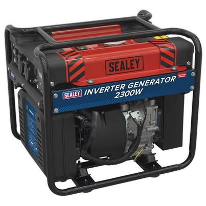 Sealey Tools Inverter Generator 2300W 230V 4-Stroke Engine