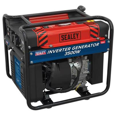 Sealey Tools Inverter Generator 3500W 230V 4-Stroke Engine