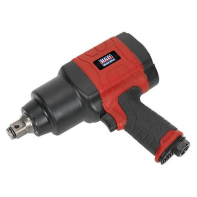 "Sealey Tools Composite Air Impact Wrench 3/4""Sq Drive Twin Hammer"